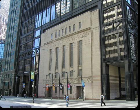 Фондовая биржа Торонто.