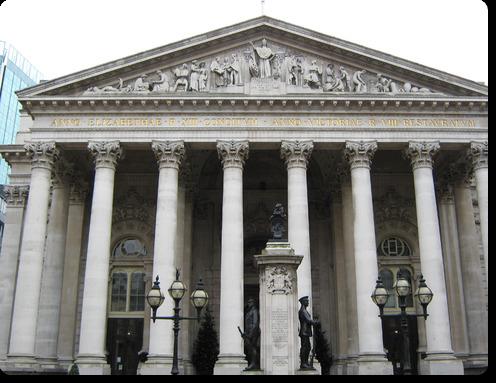 Лондонская фондовая биржа.